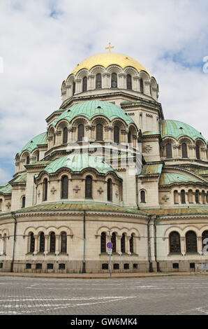 St Alexander Nevsky Cathedral, Sofia, Bulgaria - Stock Photo