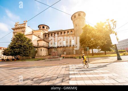 Turin city in Italy - Stock Photo