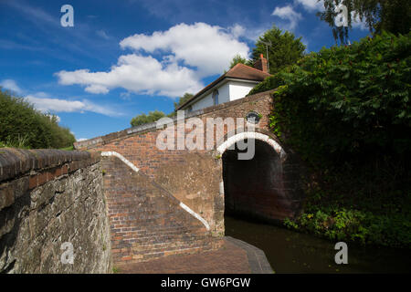Bumble Hole Lock Staffordshire and Worcestershire Canal Wombourne South Staffordshire England UK - Stock Photo