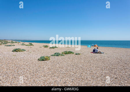 Eastney Beach, Southsea, Portsmouth, Hampshire, England, United Kingdom - Stock Photo