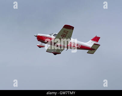 Civil utility aircraft Manufacturer Piper Aircraft - Stock Photo