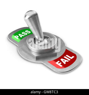 Pass Switch - Stock Photo