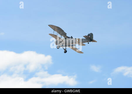 southport airshow fairy swordfish bi-plane plane aircraft - Stock Photo