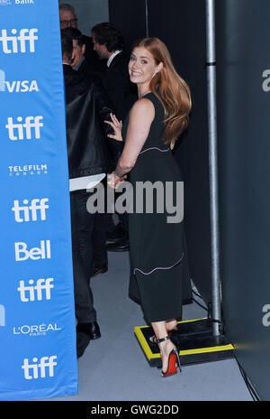 Toronto, Ontario, Canada. 12th Sep, 2016. 12 September 2016 - Toronto, Ontario Canada - Amy Adams. ''Arrival'' Photocall - Stock Photo