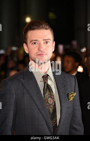 Toronto, Ontario, Canada. 13th Sep, 2016. Musician JUSTIN TIMBERLAKE attends 'Justin Timberlake   Tennessee Kids' - Stock Photo