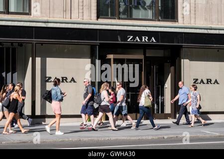 Zara store shop entrance sign logo stock photo royalty - Zara home canarias ...