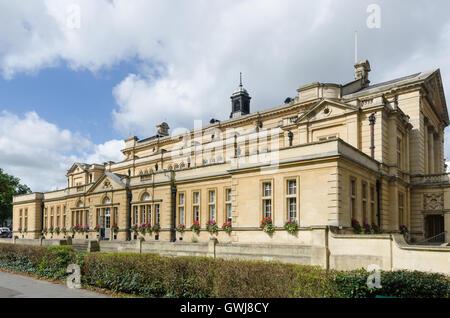 Cheltenham Town Hall in Imperial Square, Cheltenham - Stock Photo