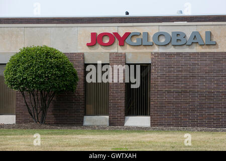 A logo sign outside of a Joy Global, Inc., facility in Cleveland, Ohio on July 21, 2016. - Stock Photo