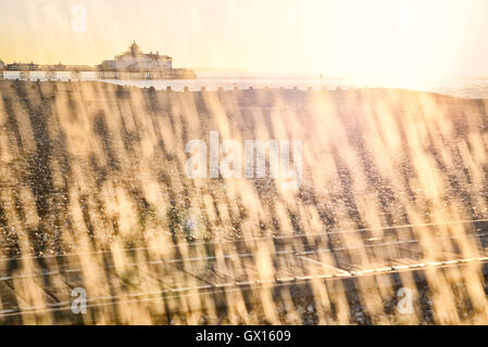 Eastbourne pier. East Sussex. England. UK - Stock Photo