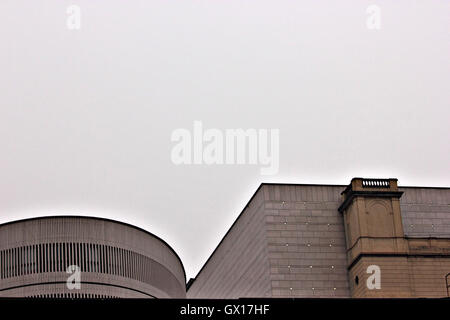 modern building, architecture, abstract, detail - Stock Photo