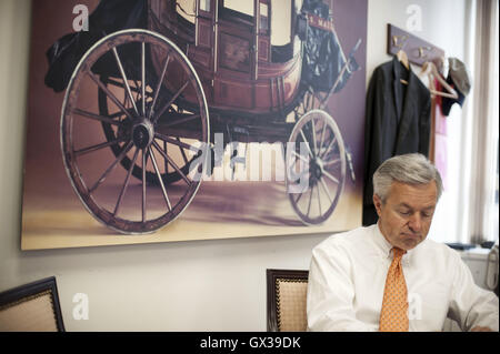 September 14, 2016 - (File Photo) - Wells Fargo CEO John Stumpf says does not plan to resign. Wells Fargo was fined - Stock Photo
