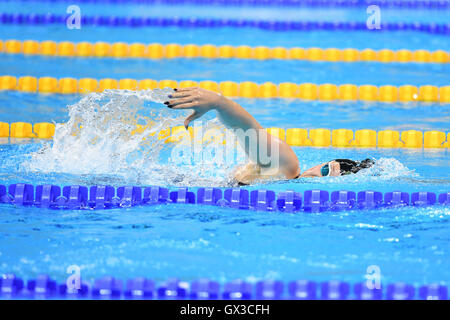 Rio de Janeiro, Brazil. 14th Sep, 2016. Rebecca Dubber (NZL) Swimming : Women's 400m Freestyle S7 Final at Olympic - Stock Photo