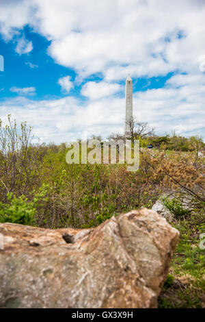 High Point Monument and Park Montague New Jersey - Stock Photo