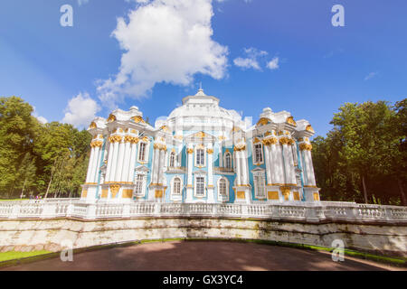 Hermitage Pavilion Catherine royal park - Stock Photo