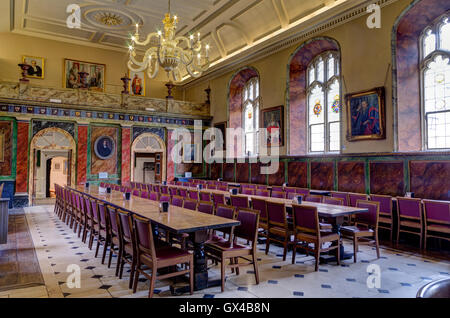 The Dining Hall at Trinity College, Oxford, UK - Stock Photo