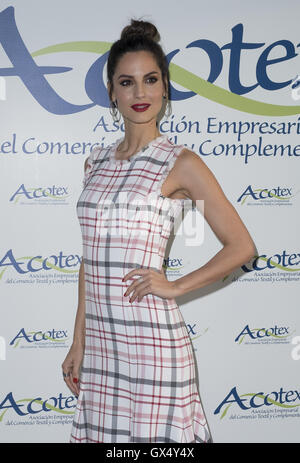 2016 Acotex Awards - Arrivals  Featuring: Ariadne Artiles Where: Madrid, Spain When: 17 Jun 2016 - Stock Photo