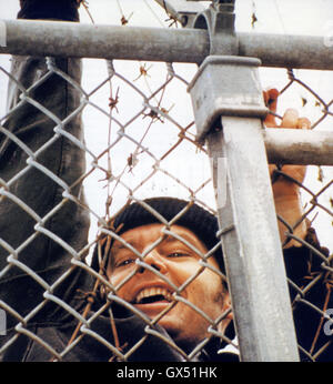 ONE FKLEW OVER THE CUCKOO'S NEST 1975 United Artists film with Jack Nicholson - Stock Photo