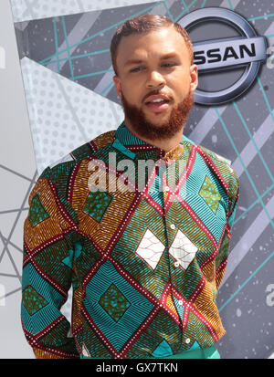 2016 BET Awards Arrivals held at at the Microsoft Theater  Featuring: Jidenna Where: Los Angeles, California, United - Stock Photo