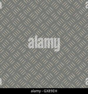 seamless metal plate - Stock Photo