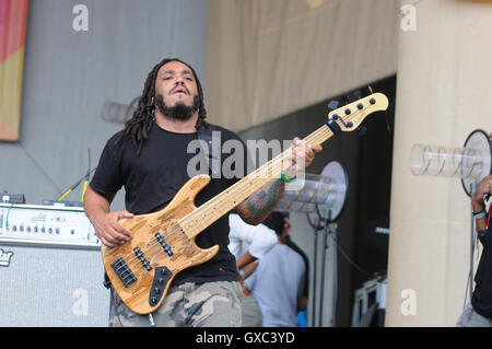 Taste of Chicago 2016 at the Petrillo Band Shell - Day 1  Featuring: The Roots Where: Chicago, Illinois, United - Stock Photo