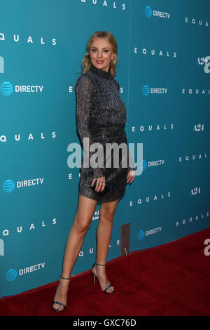 Premiere of A24's 'Equals' at ArcLight Hollywood - Arrivals  Featuring: Bar Paly Where: Los Angeles, California, - Stock Photo