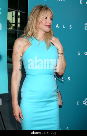 Premiere of A24's 'Equals' at ArcLight Hollywood - Arrivals  Featuring: Courtney Love Where: Los Angeles, California, - Stock Photo