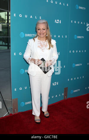 Premiere of A24's 'Equals' at ArcLight Hollywood - Arrivals  Featuring: Jacki Weaver Where: Los Angeles, California, - Stock Photo