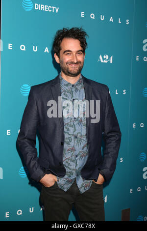 Premiere of A24's 'Equals' at ArcLight Hollywood - Arrivals  Featuring: Jay Duplass Where: Los Angeles, California, - Stock Photo
