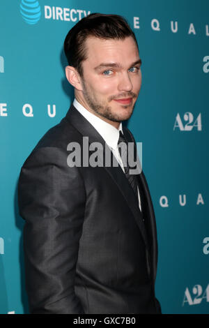 Premiere of A24's 'Equals' at ArcLight Hollywood - Arrivals  Featuring: Nicholas Hoult Where: Los Angeles, California, - Stock Photo