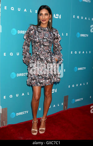Premiere of A24's 'Equals' at ArcLight Hollywood - Arrivals  Featuring: Rebecca Hazlewood Where: Los Angeles, California, - Stock Photo
