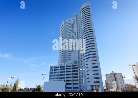 View on financial district in Vienna, Austria - Stock Photo