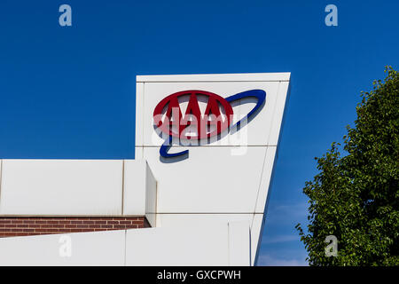 American Automobile Association Sign Stock Photo Royalty