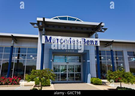 Indianapolis - Circa May 2016: Mercedes-Benz Dealership III - Stock Photo