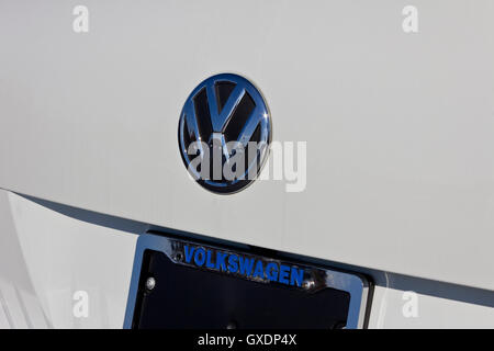 Lafayette, IN - Circa November 2015: Volkswagen VW Logo - Stock Photo
