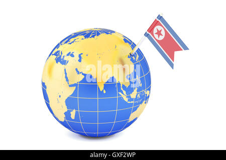 Map Icon of the World Globe North America USA Stock Photo Royalty