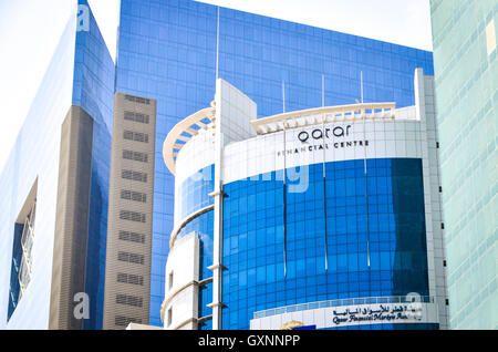 Qatar Financial Centre, Doha - Stock Photo
