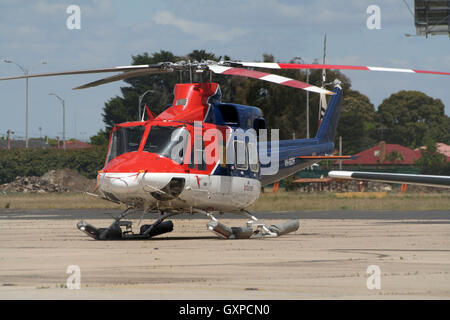 CHC Helicopters Australia Bell 412 At Mackay Airport Stock Photo Royalty Fre