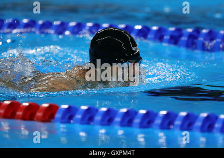 Thiland's Somchai Doungkaew during Men's 150m IM - SM3 Final on the ninth day of the 2016 Rio Paralympic Games in - Stock Photo