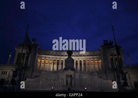 The National Monument to Vittorio Emanuele II, Rome, Roma, Italy, travel - Stock Photo