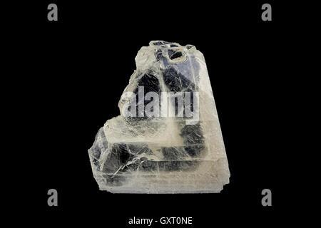 Crystal of baryte - Stock Photo