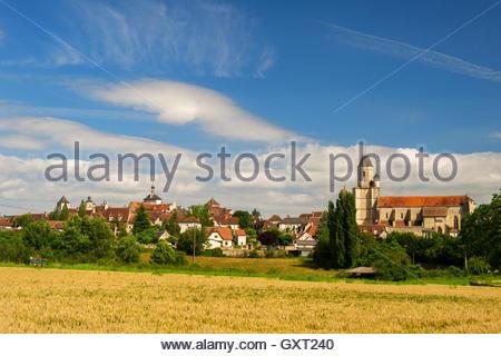 Village martel in France - Stock Photo