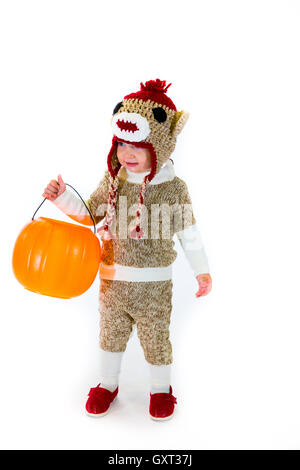 Sock Monkey Halloween Costume · Sock Monkey Halloween Costume - Stock Photo  sc 1 st  Alamy & Sock Monkey Halloween Costume Stock Photo: 119771077 - Alamy