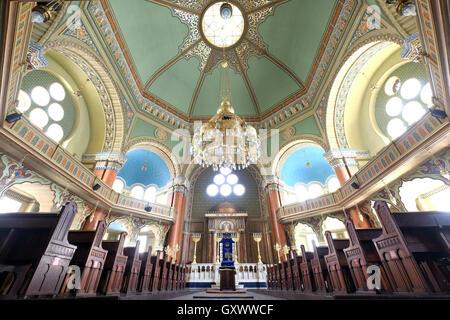 Inside the Sofia Synagogue,Sofia,Bulgaria - Stock Photo
