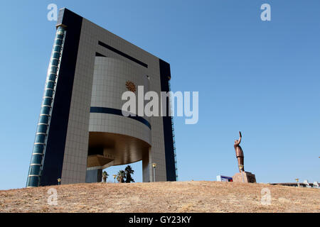 Independence memorial museum, Windhoek, Namibia, August 2016 - Stock Photo