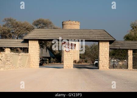 Okaukuejo Camp, Etosha, Namibia, August 2016 - Stock Photo
