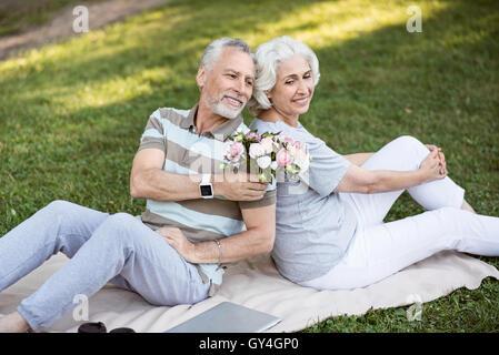 Belgians belgian people tourists elderly couple couple for Cafe jardin scarborough