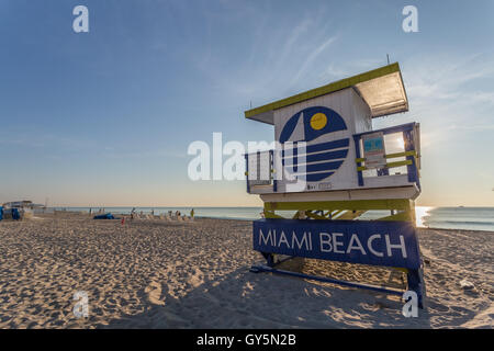 Florida, USA, Miami - Stock Photo