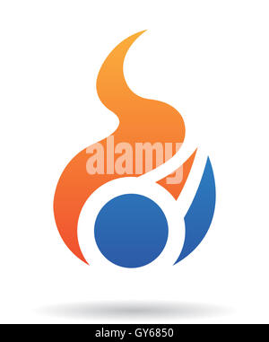 Abstract logo icon and design element - Stock Photo