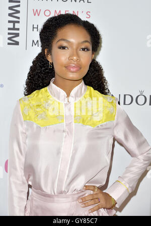 Beverly Hills, CA, USA. 17th Sept, USA. Yara Shahidi attends the 5th Annual Women Making History Brunch at the Montage - Stock Photo
