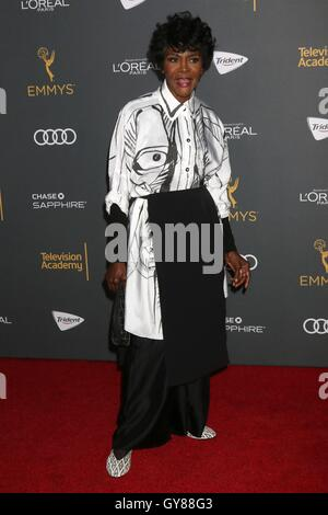 LOS ANGELES - SEP 16:  Cicely Tyson at the TV Academy Performer Nominee Reception at the Pacific Design Center on - Stock Photo